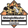 Certainteed Shinglemaster roofer logo